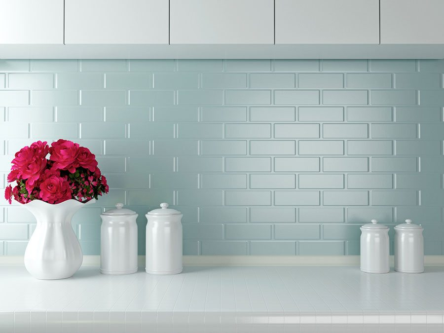 White Is A Popular Colour, But These Simple Kitchen Tiles Look Great In  Just About Any Shade. They Not Only Add A Traditional Feel To A Kitchen, ...