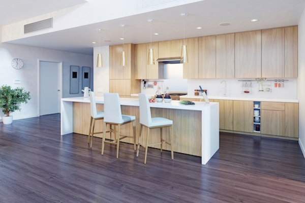 Kitchen island ideas uses and features property price advice - Space saving movable kitchen island get efficient kitchen traffic ...
