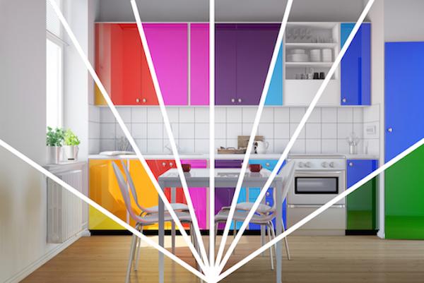Colour Scheme Kitchen Colourful