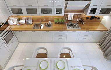 White kitchen ideas inspiration property price advice for Kitchen ideas 2015 uk