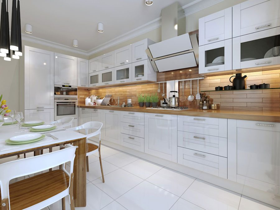 White kitchen ideas & inspiration - Property Price Advice