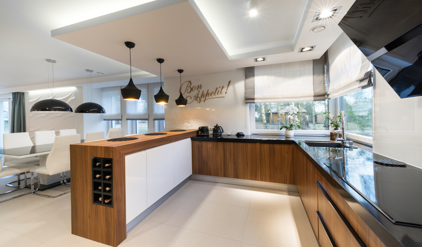 Creating an open plan kitchen property price advice for Open kitchen images