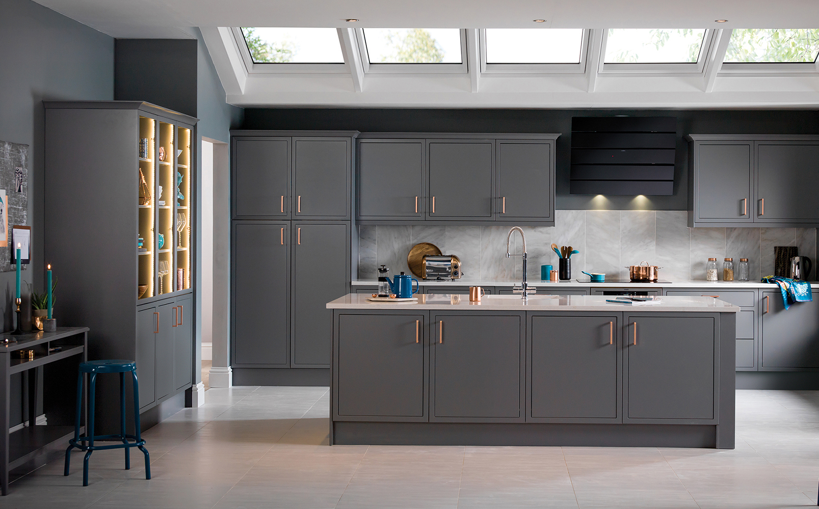 17 Ideas For Grey Kitchens That Are: How To Devise The Perfect Open-plan Scheme