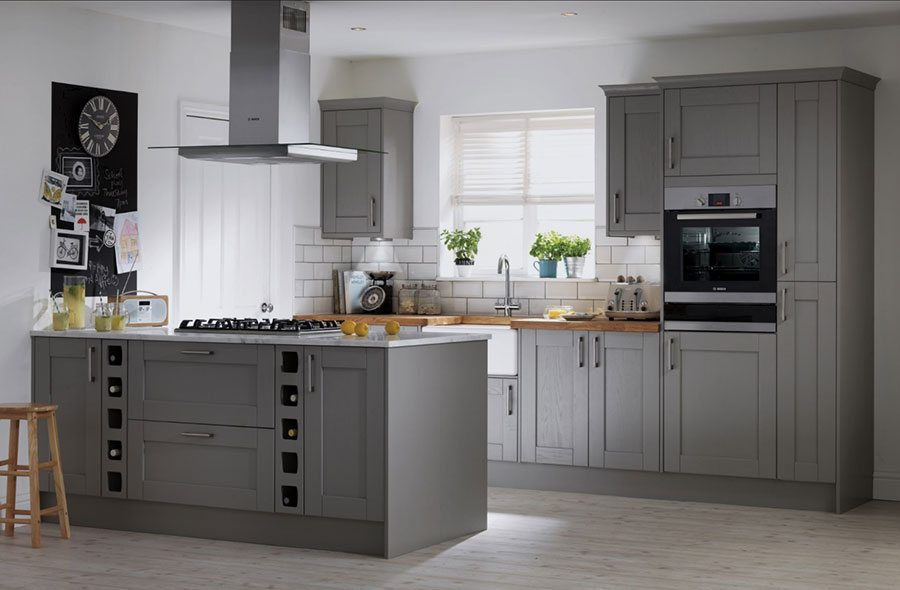 How to devise the perfect open plan scheme property for Home base kitchen units