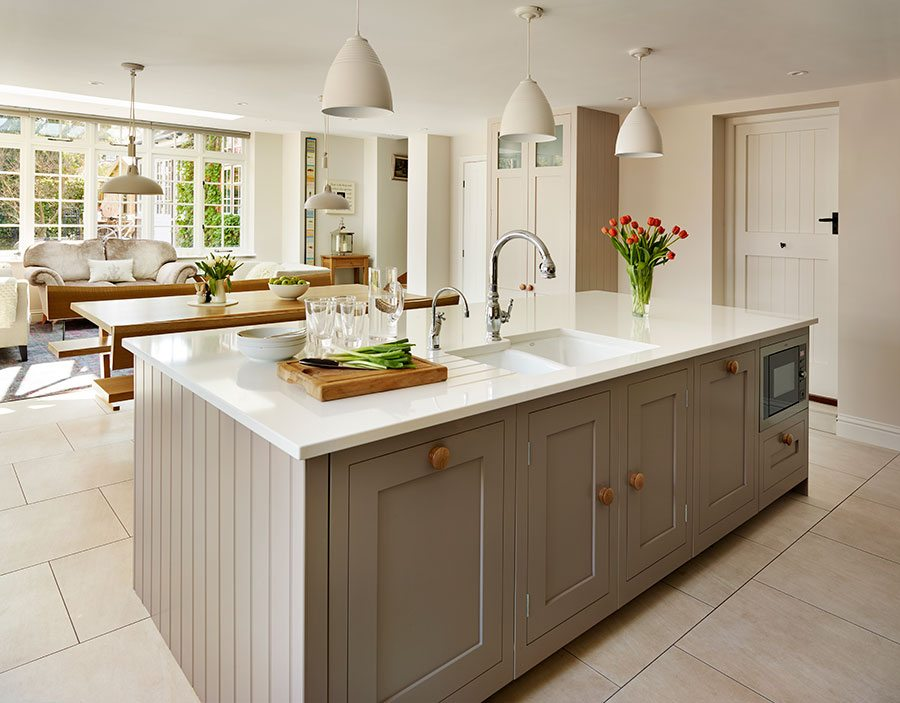 Kitchen Island Hob planning the perfect kitchen island - property price advice