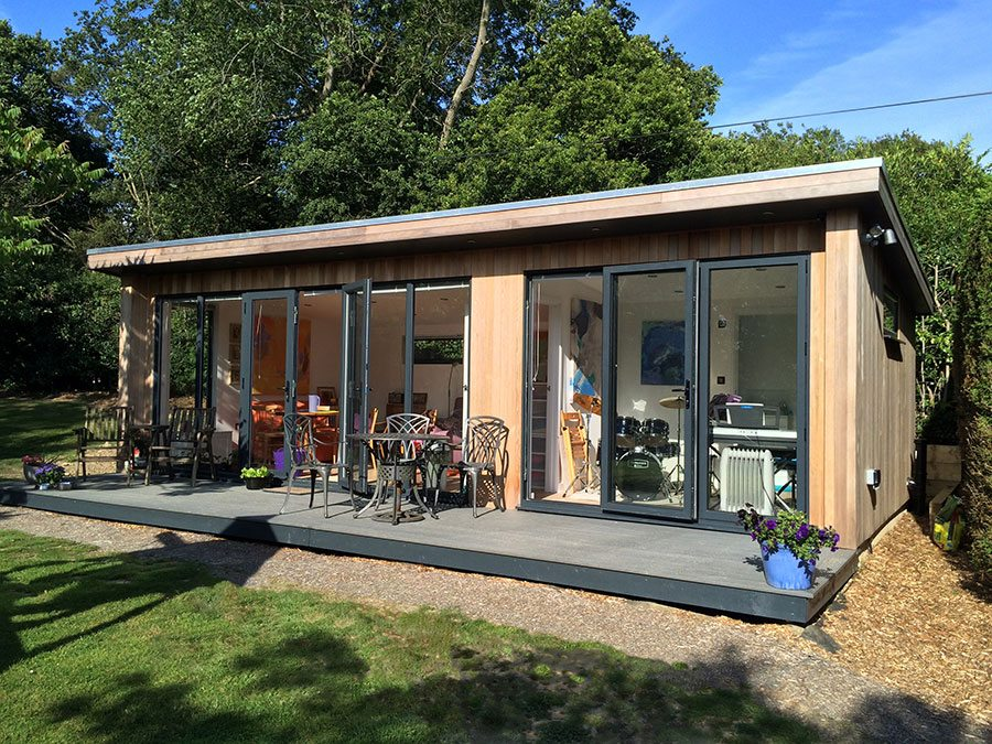 How garden rooms add value and saleability property for Garden rooms prices uk