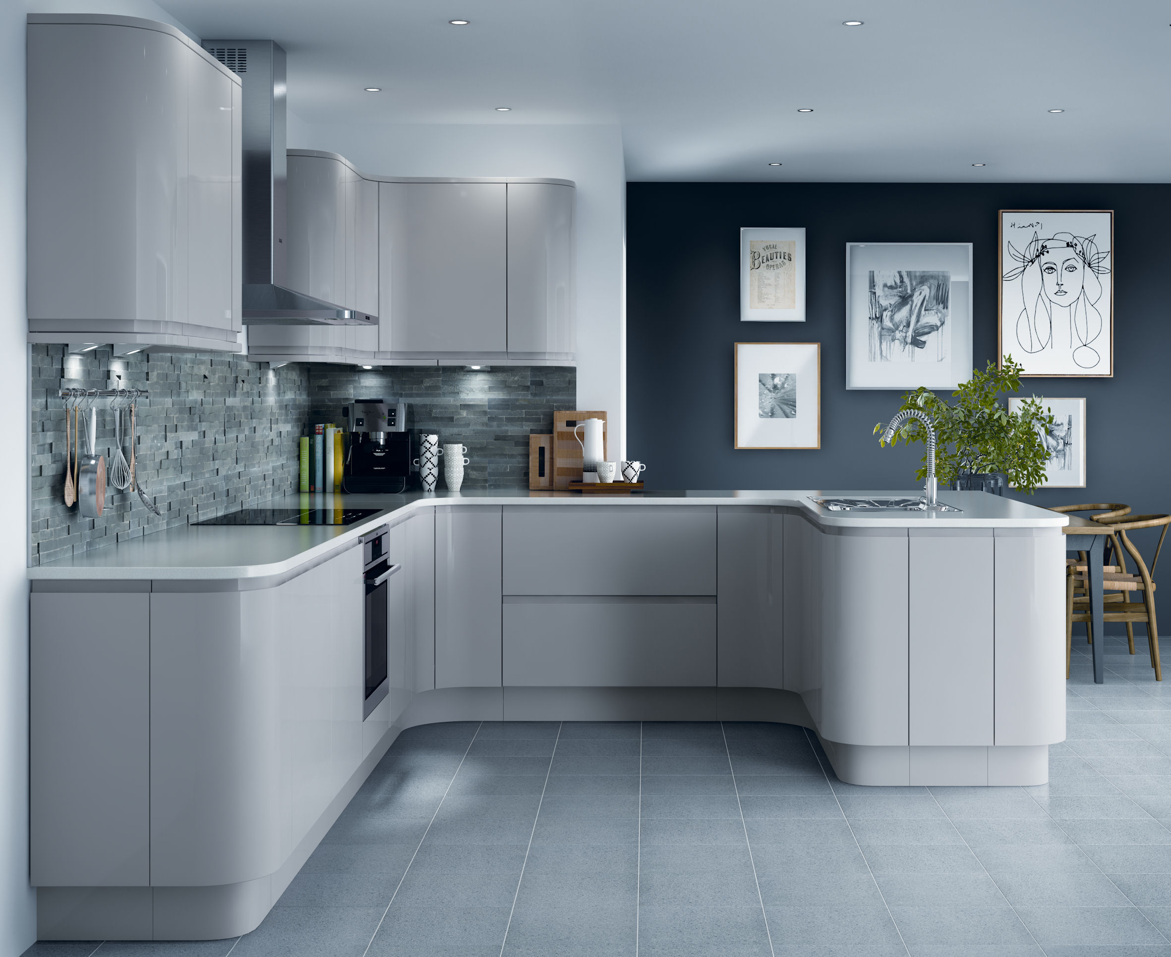 Wickes Kitchen Furniture Dividing Your Open Plan Living Space Property Price Advice