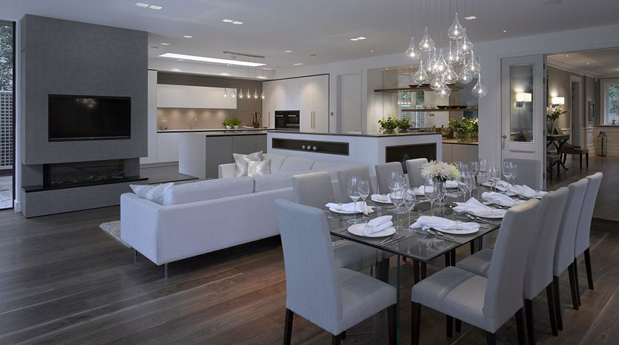 How To Divide An Open Plan Space 9 Ideas: Dividing Your Open-plan Kitchen Living Space