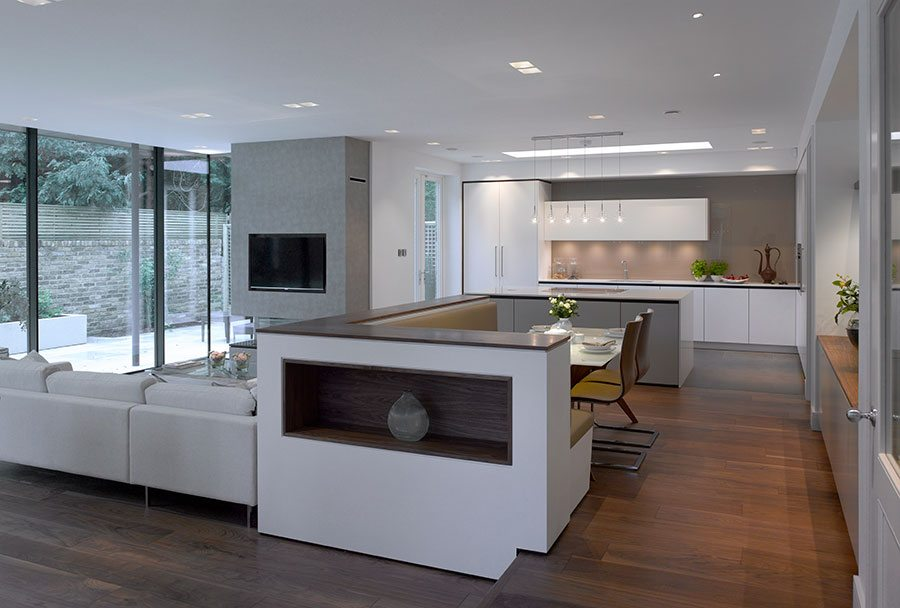 Dividing Your Open Plan Kitchen Living Space Property Price Advice