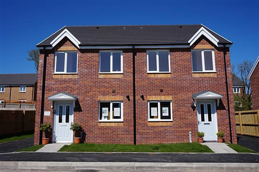 Housing types in the uk property price advice for Semi detached house plans