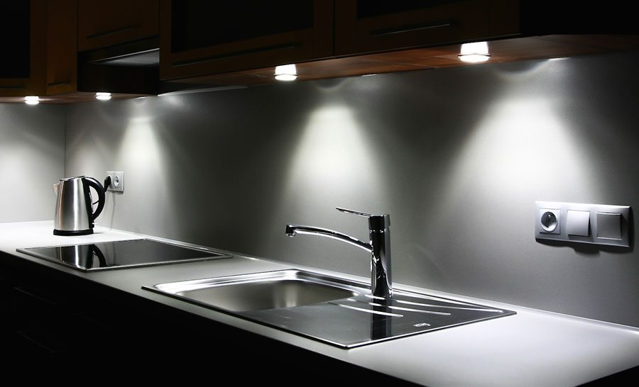 Kitchen Kickboard Lighting Part - 15: Plinth Lighting Can Give A Contemporary Kitchen The Edge By Highlighting  Your Flooring: Itu0027s A New Concept, But Not One Thatu0027s Too Expensive To  Execute.