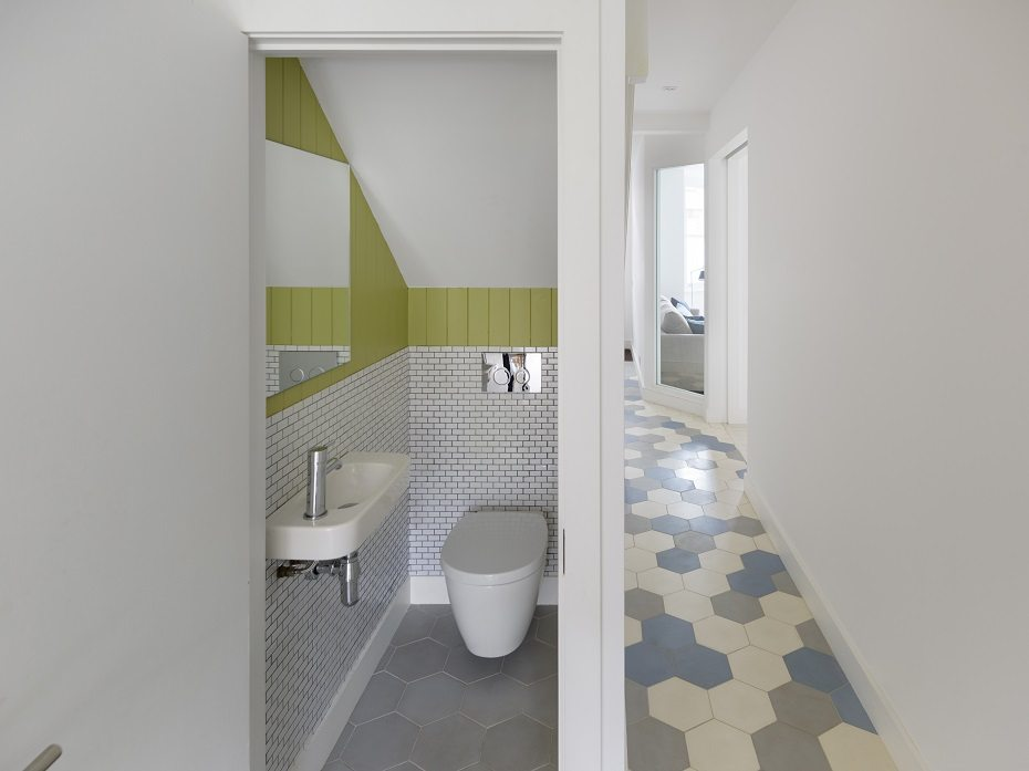 Small Changes Made A Big Impact In This Victorian Home By Architect Brian OTuama Who Has Slotted Stylish Downstairs Cloakroom Under The Stairs