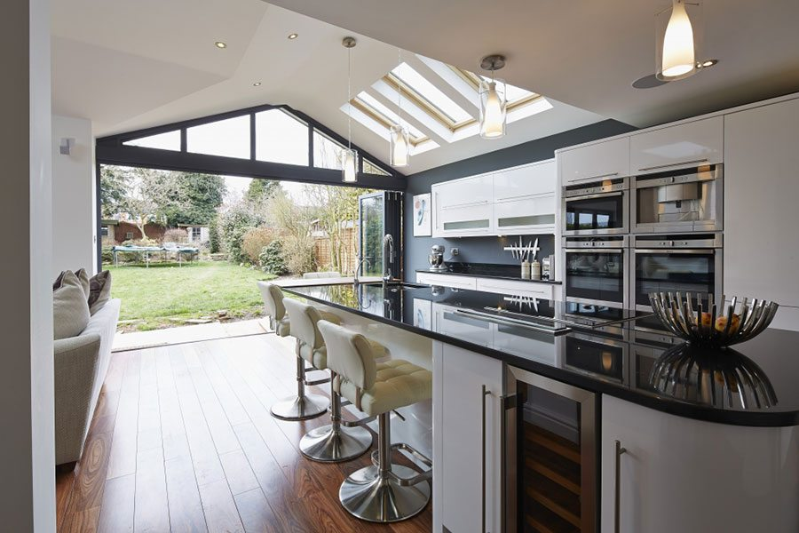 How To Create An Indoor Outdoor Kitchen Property Price Advice
