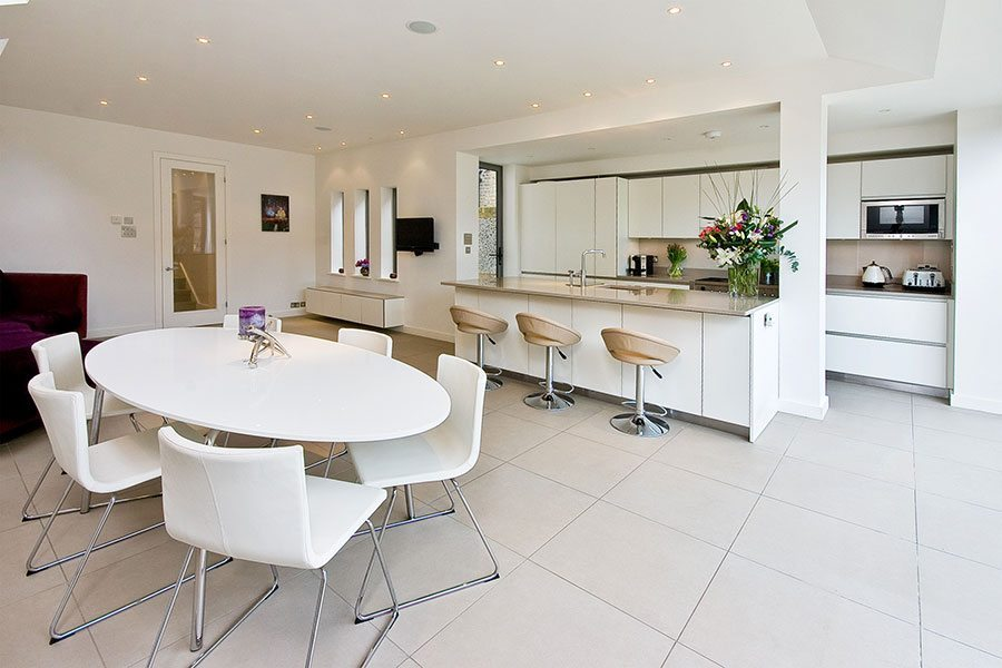 The Pura Collection By Rational Is Featured In This Open Plan Space Designed Kitchen Coordination A Of Size Would Cost Around