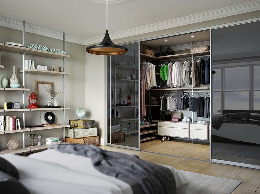 sale retailer e0ed5 ae7ec Create a walk-in wardrobe without blowing your budget ...