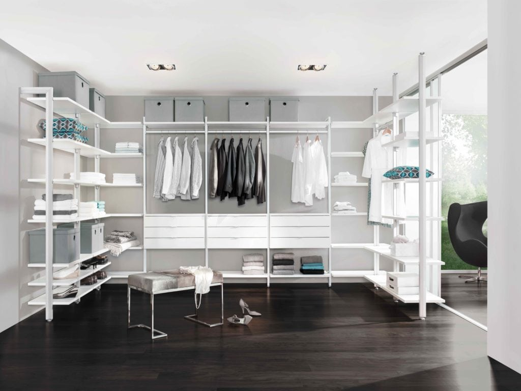 Create A Walk In Wardrobe Without Blowing Your Budget Property Price Advice