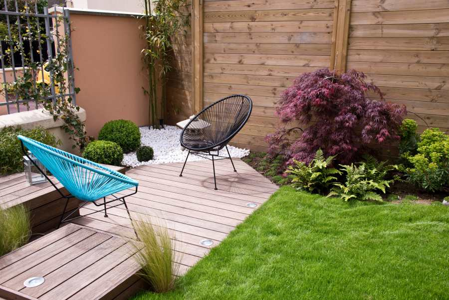 Low Maintenance Garden Design Expert Tips And Tricks Property Price Advice,Denton House Design Studio
